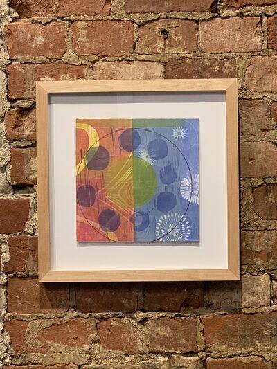 Elizabeth Foley, 'Circles in Square #195', 2019