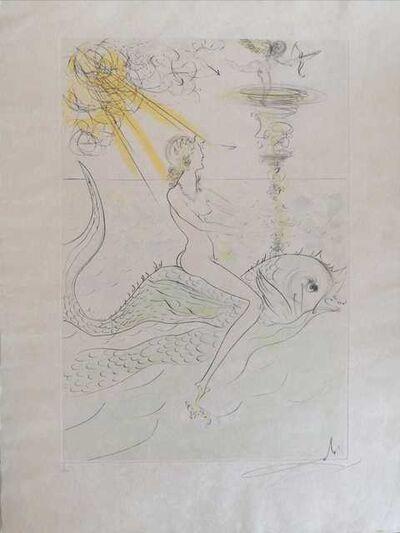 Salvador Dalí, 'La sirène et le dauphin', 1971