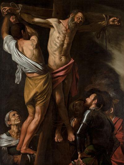 Michelangelo Merisi da Caravaggio, 'The Crucifixion of Saint Andrew', 1606-1607
