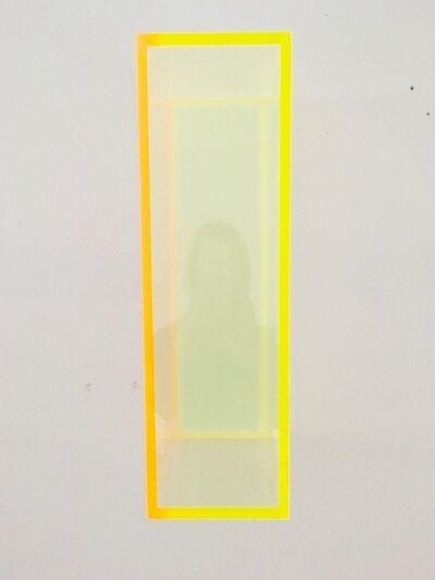 Regine Schumann, 'Colormirror glow soft yellow', 2015