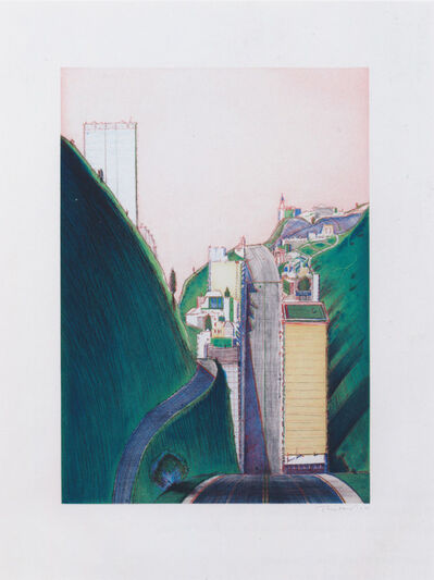 Wayne Thiebaud, 'Park Place', 1995
