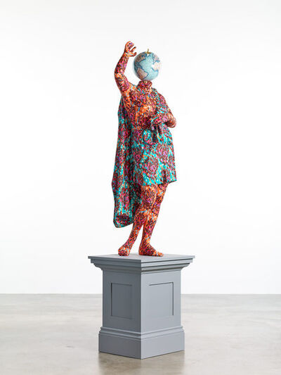 Yinka Shonibare CBE, 'Wounded Amazon (after Sosikles)', 2019