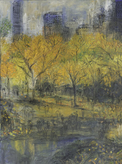 Layla Fanucci, 'Fall in Central Park Opus 18'