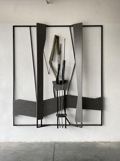 Indrikis Gelzis, 'Non-starry night', 2020