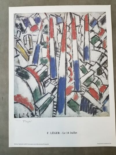 Fernand Léger, 'Le 14 juillet', 1989