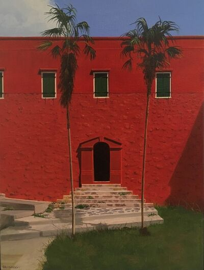 Carl Laubin, 'Fort Christian Doorway'