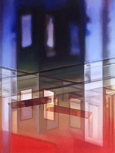 Patti Oleon, 'LA Apartment Lobby Criss-Cross,', 2019