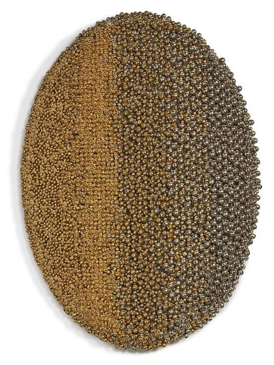 Haegue Yang, 'Sonic Rotating Oval -- Brass and Nickel Plated #20', 2014