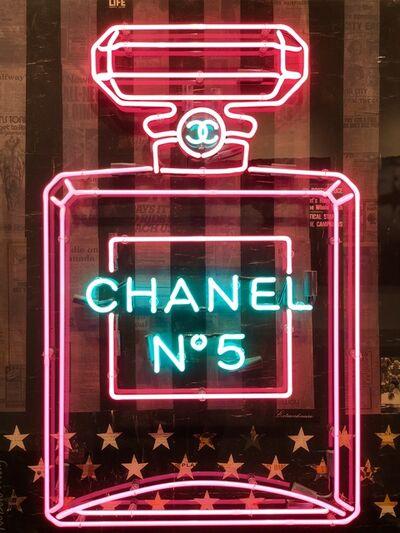 Robert Mars, 'Deep Purple Chanel Bottle', 2016
