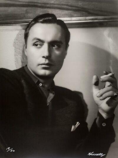 George Hurrell, 'Charles Boyer', 1938