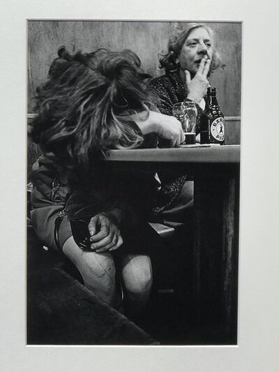 Anders Petersen, 'Elfriede Cafe Lehmitz', 1970