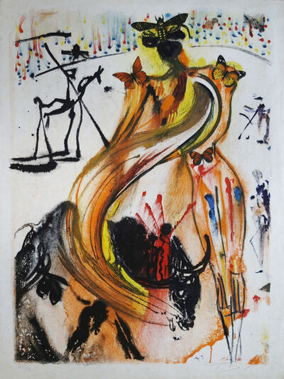 Salvador Dalí, 'Bullfighter', 1972