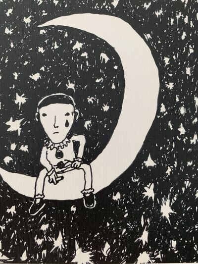 "dran, 'DRAN ""STARRY NIGHTS"" DESSIN DU JOUR, HAND SIGNED & NUMBERED BY ARTIST', 2018"