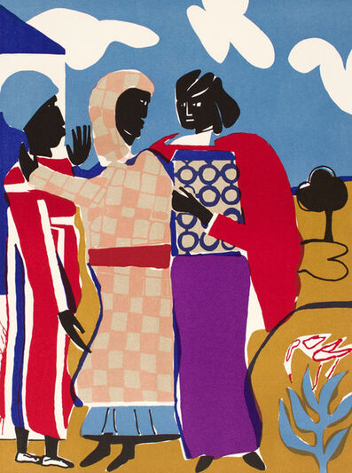 Romare Bearden, 'THREE WOMEN', 1979