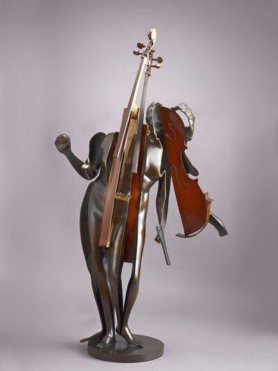 Arman, 'Venus au Violoncelle bois', 1990