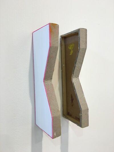 Finbar Ward, 'Untitled (Two Part Polygon 4)', 2016