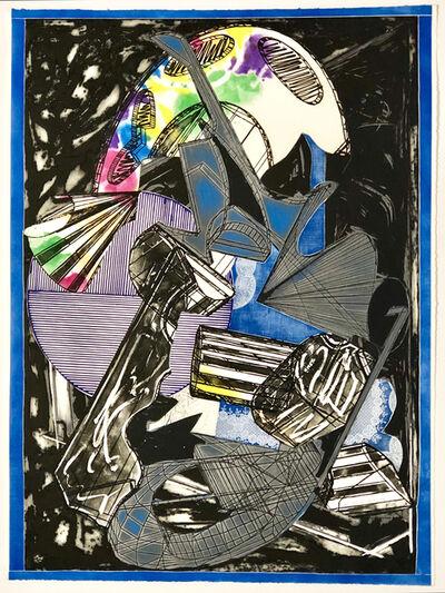 Frank Stella, 'Giufa e la berretta rossa', 1989