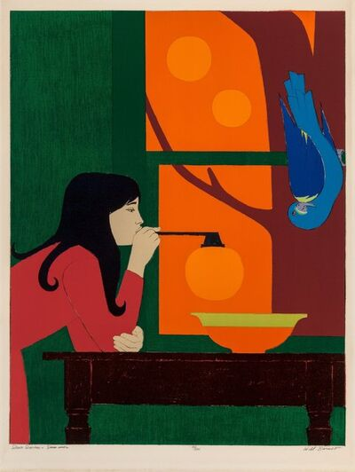 Will Barnet, 'Silent Season-Summer', 1974