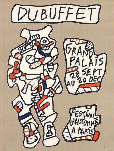 Jean Dubuffet, 'Affiche (Grand Palais, Festival d'Automne à Paris)', 1973