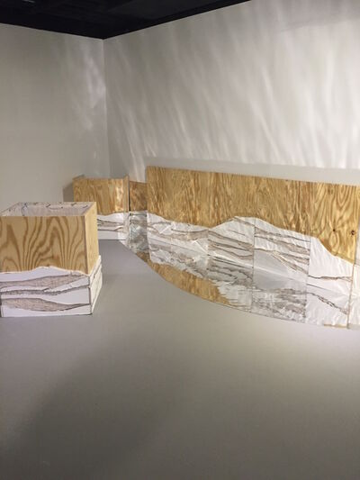 Maggie Gourlay, 'Drywall Structures 1', 2016