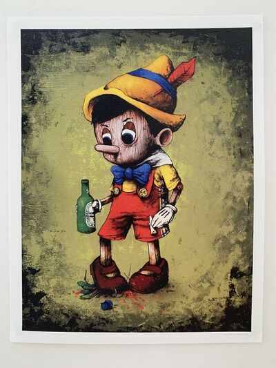 "dran, 'DRAN ""DRUNK PINOCCHIO"" PARIS EXCLUSIVE PRINT', 2016"