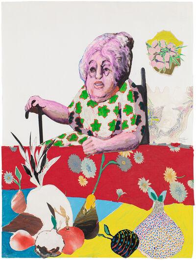 Benny Andrews, 'Alice Neel', 1993