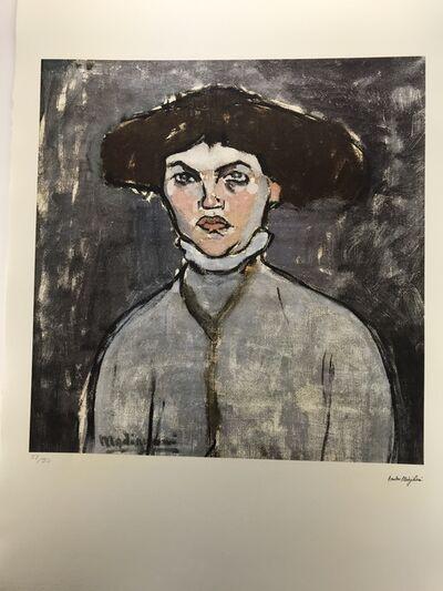 Amedeo Modigliani, 'Tête de jeune femme (1906 - 1909)', Ca 1985