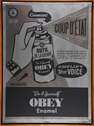 Shepard Fairey, 'Do It Yourself', 2012