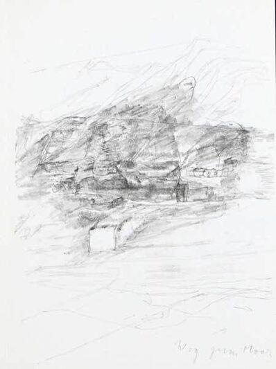 Joseph Beuys, 'Weg zum Meer (Zeichnung zu Leonardo 'Codices Madrid')', 1975