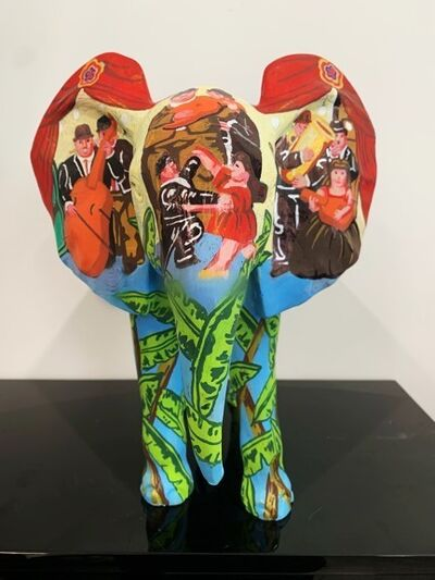 "Metis Atash, 'ELEPHANT Medium ""LETS' DANCE TO THE RYTHM OF LOVE"" feat. Botero', 2019"
