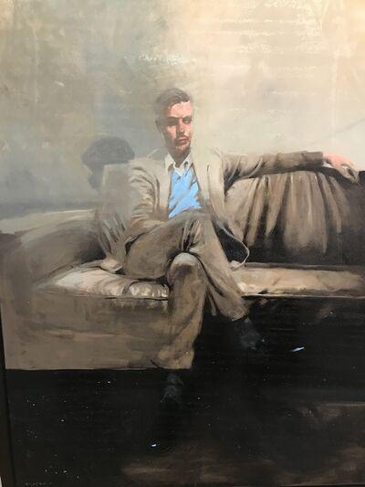 Michael Carson, 'Seated Man 2', 2018
