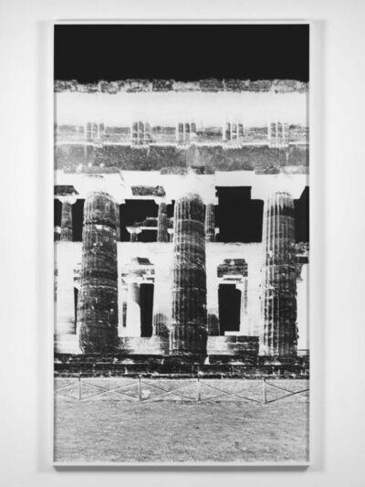 Vera Lutter, 'Temple of Nettuno, Paestum, XXIV: October 26, 2015', 2015