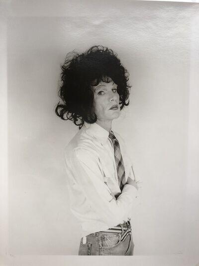 Christopher Makos, 'Andy Warhol, dark wig (Altered images)', 1981