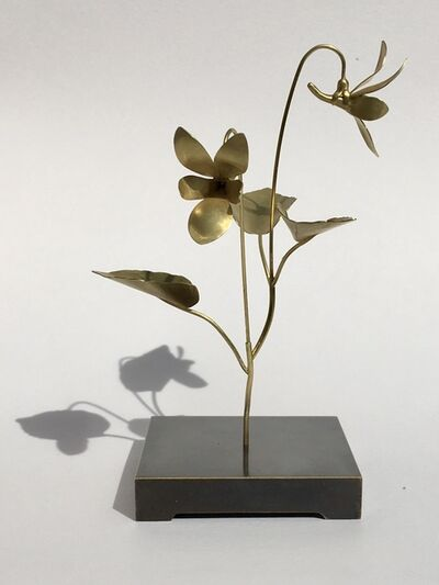 CHRISTOPHER THOMPSON ROYDS, 'Christopher Thompson-Royds Against Nature: Violet Sculpture with Earrings ', 2020