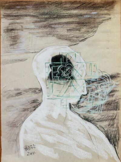 Pei Zhuangxin, 'Sketch ⼿稿《與⾃⼰的對話》', 2010