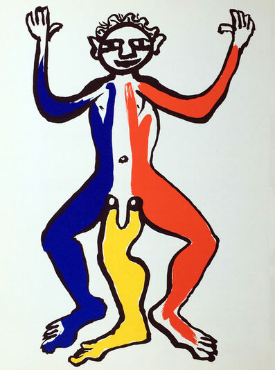 Alexander Calder, 'Alexander Calder Lithograph, Derrière Le Miroir', 1975