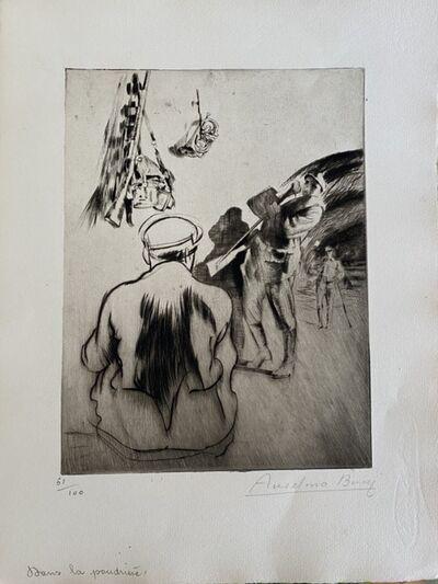 Anselmo Bucci, 'Military ', 1917s