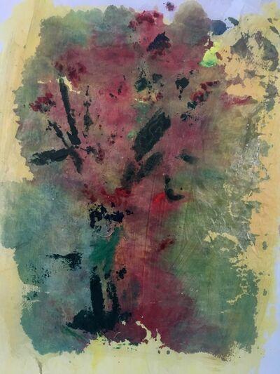 Joel Handorff, 'Painting of flowers on rice paper: 'Venetian Dream'', 2018