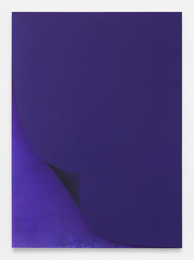 Sayre Gomez, 'Untitled Painting in Blue-Violet', 2016