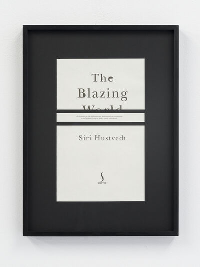Meriç Algün Ringborg, 'Disclaimers (Siri Hustvedt: The Blazing World)', 2014