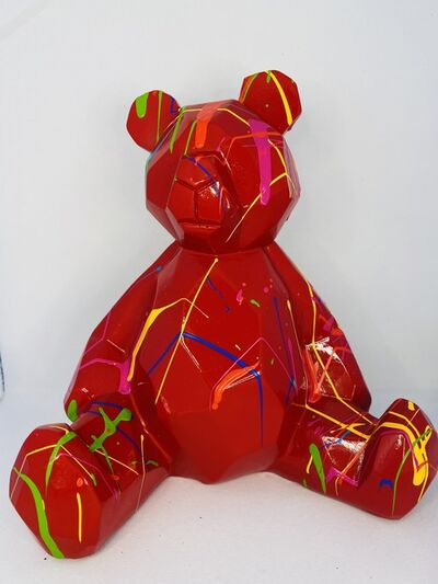 Elena Bulatova, 'Little Red Teddy Bear', 2020