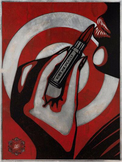 Shepard Fairey, 'Kiss Me Deadly', 2012