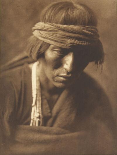 Edward Sheriff Curtis, 'Hastobiga - Navanho Medicine - Man', 1907-1930
