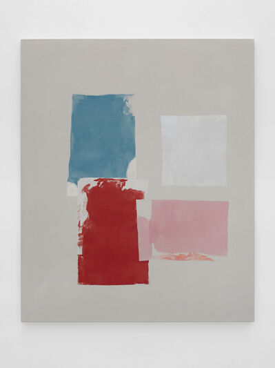 Peter Joseph, 'Blue, Red, Pinks and Light Grey', 2017