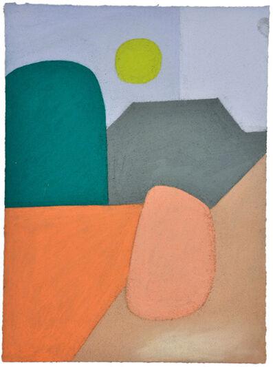 "Julian Martin, 'Untitled (after Edvard Munch, ""Girls on the Bridge"")', 2015"