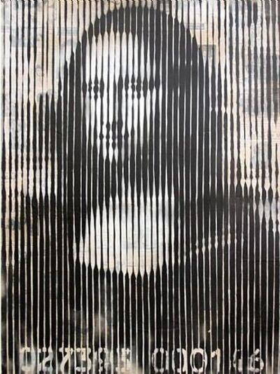 Mr. Brainwash, 'Mona Lisa Barcode', 2008