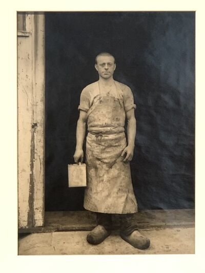 August Sander, 'Varnisher', 1932
