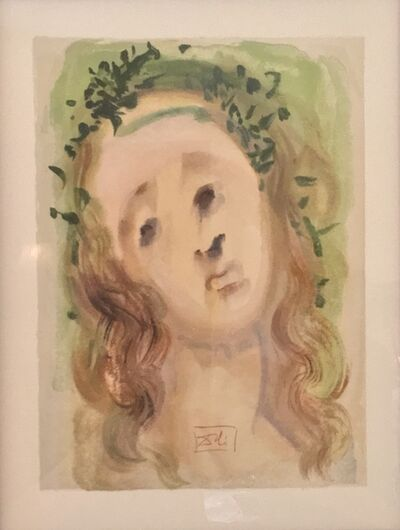 "Salvador Dalí, '""La Vergine Annunziata""', 1974"