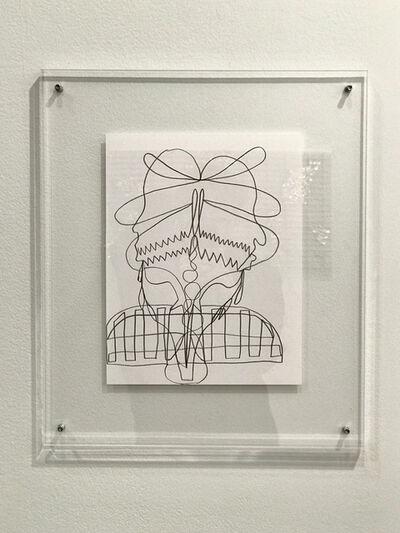 Asif Mian, 'Single-line Drawing #2', 2019