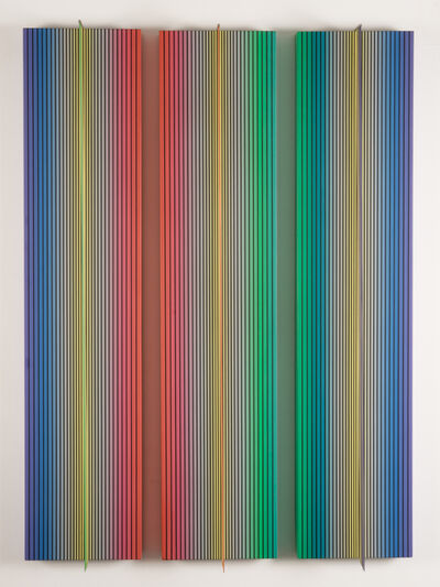 Dario Perez-Flores, 'Prochromatique 140 Tryptique', 1983